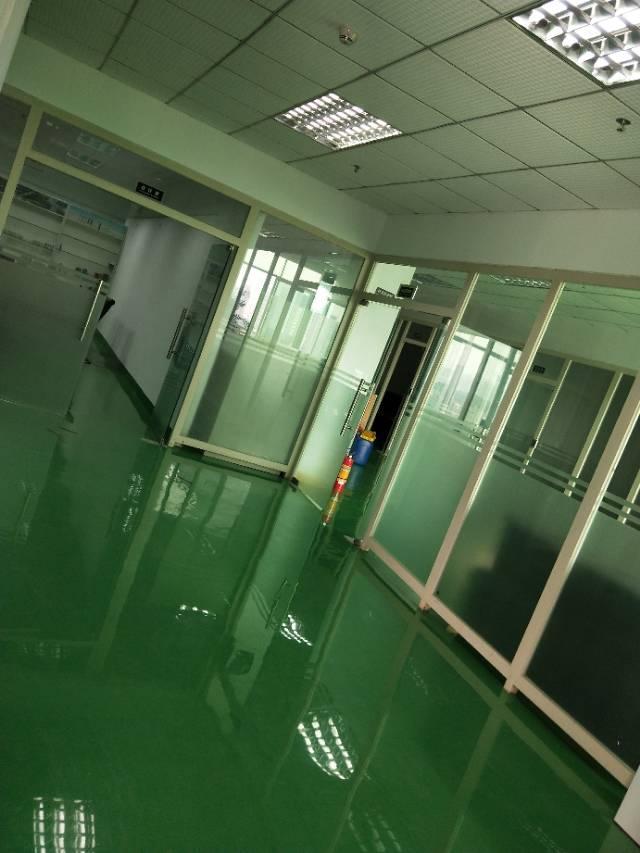沙井大王山二工业区楼上一整层带精装修实际面积1000平方出租-图4