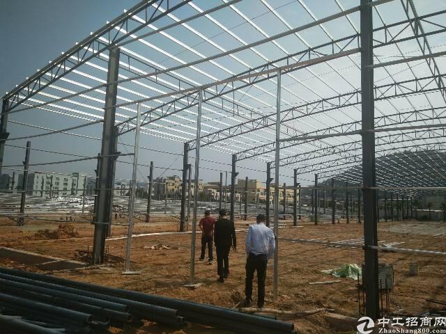 在建21000平钢构,5月完工,滴水9米