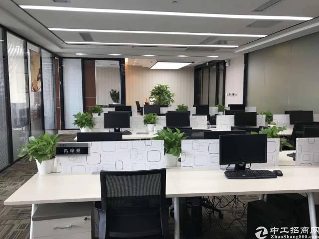龙华明治深圳北站附近豪华装修写字楼800平隆重招商,拎包入住