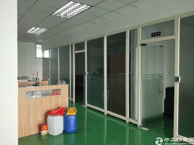 沙井大王山二工业区楼上一整层带精装修实际面积1000平方出租-图2