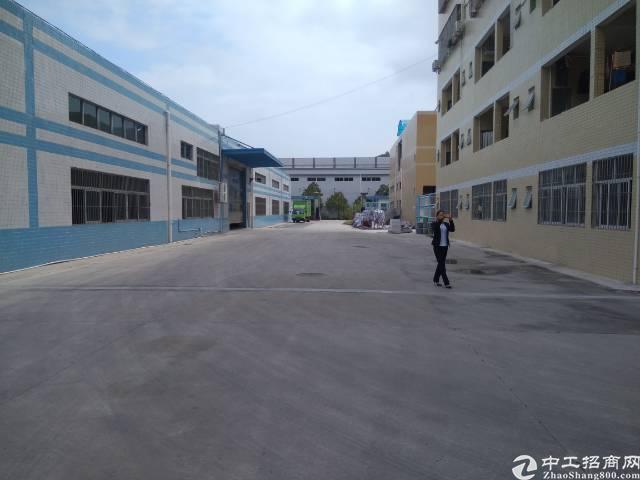 惠州新出独院标准厂房4200平方,现房空地大
