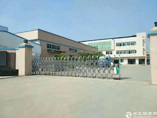 惠阳秋长独院钢构厂房8000平方,行业不限电315