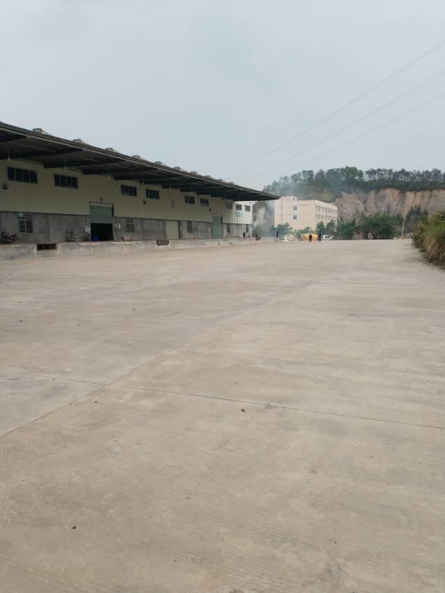 惠州惠城独院钢构厂房出租【可做物流园】