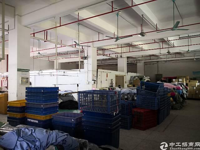 茶山镇刚空出850平方一楼标准厂房招租