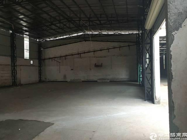 坪山坑梓单一层钢构厂房800平送宿舍空地超级大