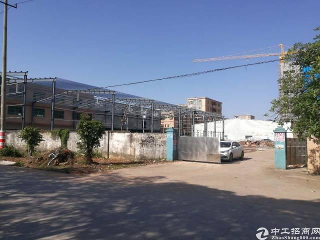 惠阳秋长独院钢构厂房2500平方电500kva
