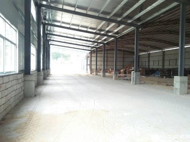 清溪镇近塘厦樟木头独院钢结构厂房7000平米
