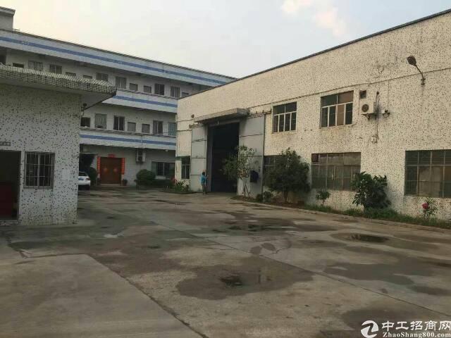 坪山新区滴水10米高带行吊钢构厂房2800平25元租
