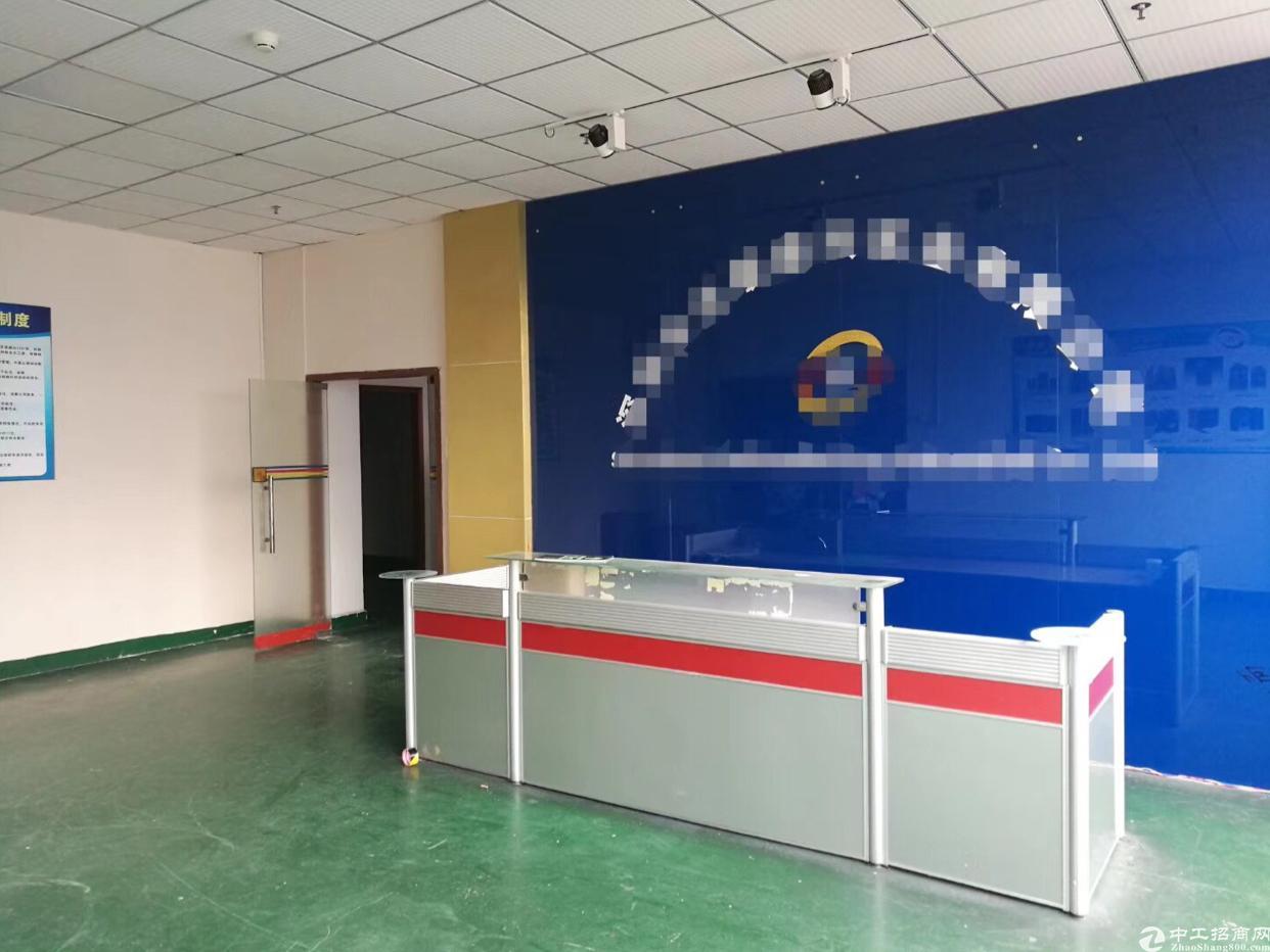 龙华汽车站附近1280平精装修厂房出租,面积实在,合同期长