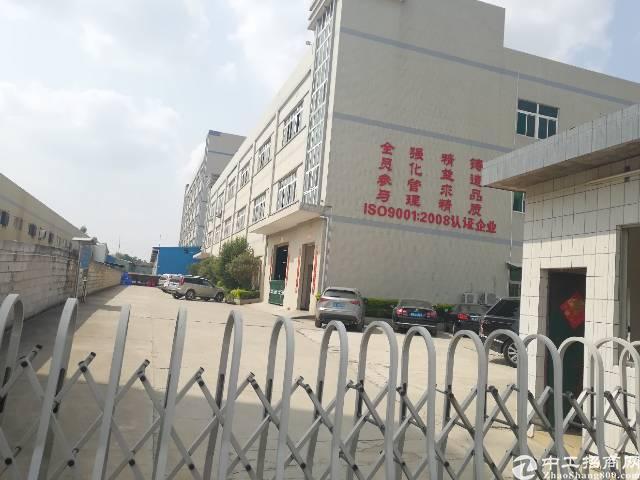 东莞新出高速出口工业园10000平米低价出租可办环评分租