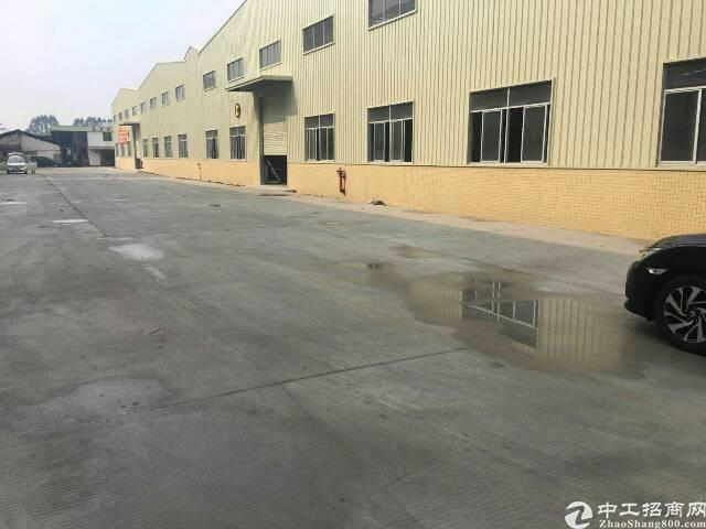 松山湖附近工业区全新独院单一层钢构带牛角低价出租