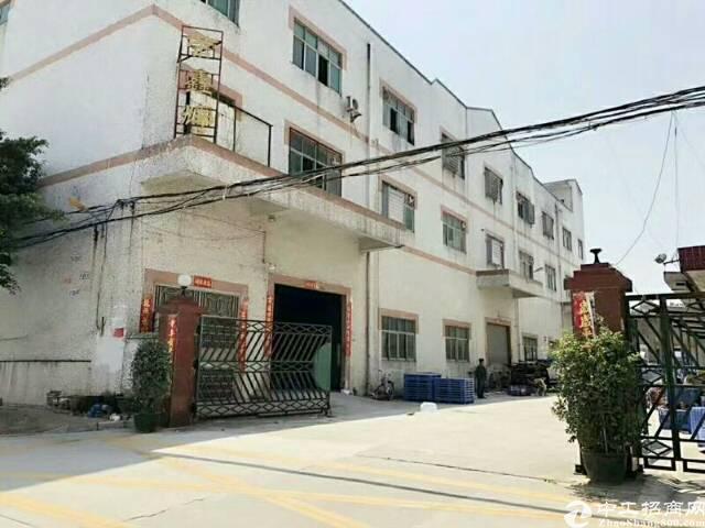 沙井庄村第一工业区4楼700平厂房招租