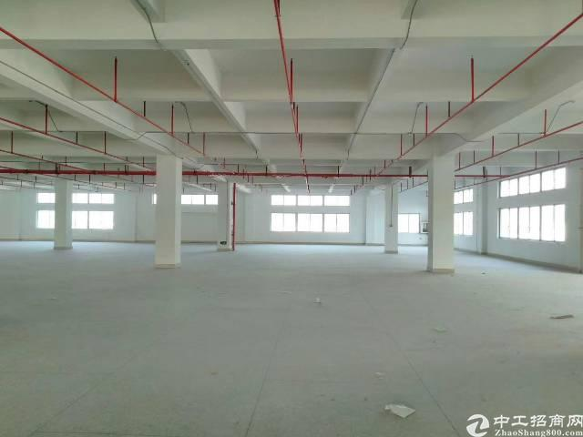 黄江镇靠近高速路口新出标准厂房楼上一整层2800平方出租