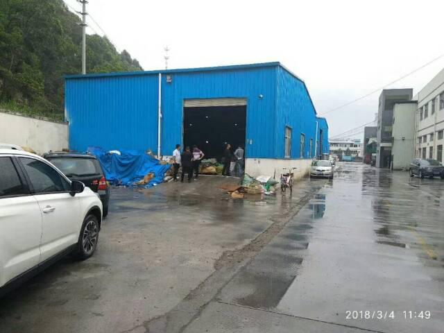 新出单一层铁皮厂房1500㎡ 可做家私废品打包 废品打包