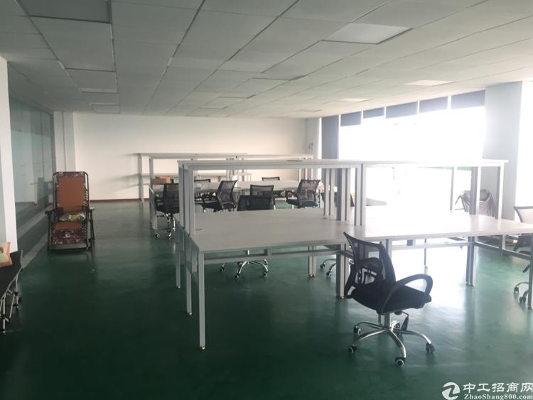 坪山多彩科技园楼上1200平米精装修厂房出租23元