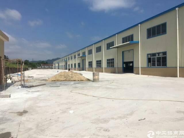 惠州陈江高速出口处全新独栋钢构厂房5600平方招租