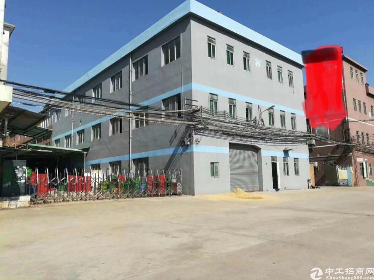 石碣独门独院1-3层4000平米租14块位置好招工方便