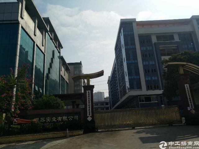 企石镇原房东独院标准厂房两栋1-4层16800平方