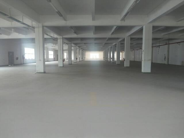 清溪镇新出标准厂房二楼4000平米出租