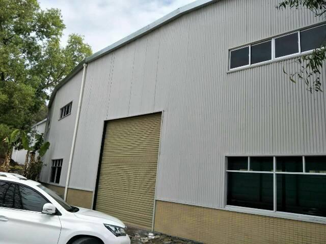 谢岗新建独门独院单一层厂房4800平方,配电400