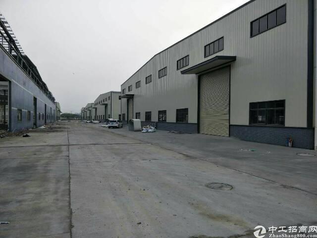 大岭山新出独门独院厂房20000平米滴水高度10米,适合重工