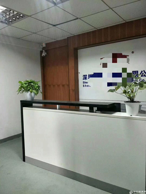 福永和平新兴工业区新出4楼520平方米厂房带装修出租