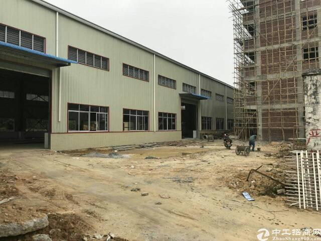 横沥镇全新钢构独院滴水10米厂房4000平方米出租