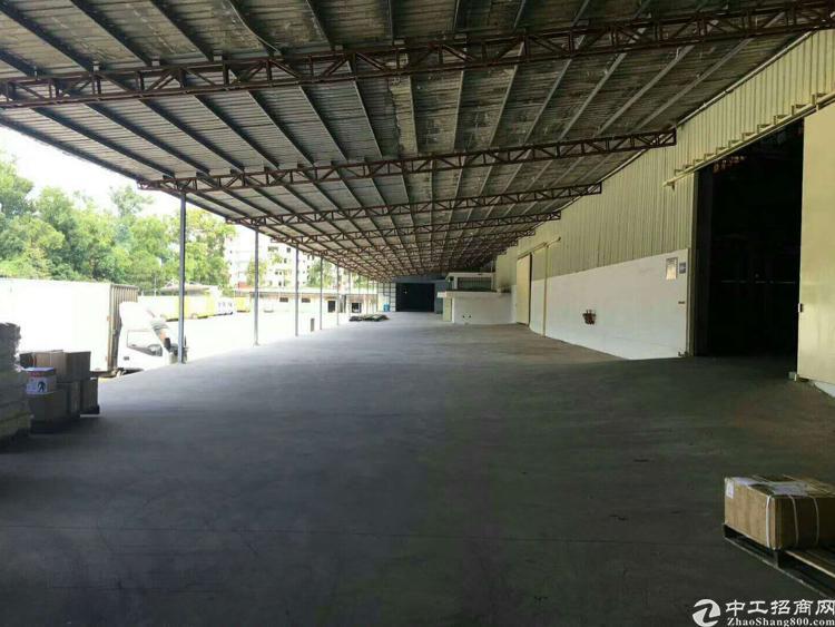 坪山钢构厂房11000平米租23 适合物流仓储中转