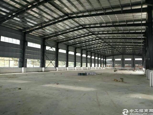 茶山镇新出钢构厂房滴水9.5米3800平