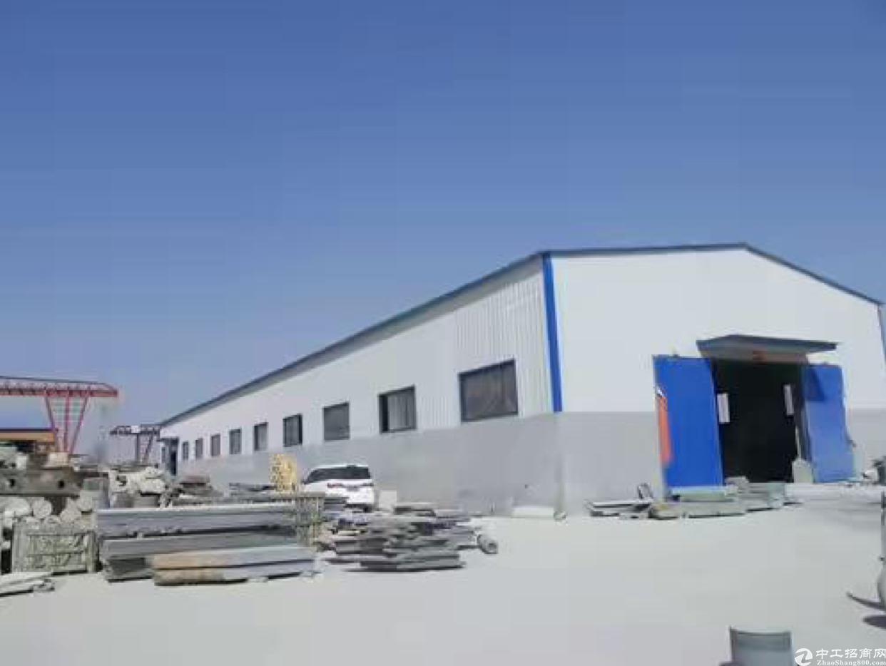 沙田镇在建钢构厂房