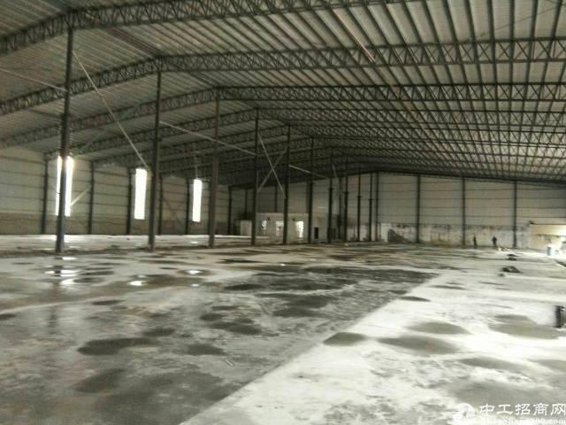 企石镇单一层钢构厂房2800平方滴水10米