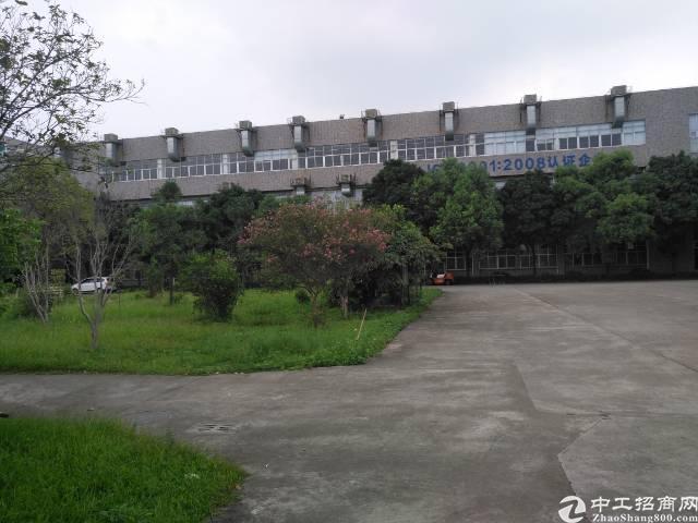 横沥靠常平花园式独院厂房26000平米招租