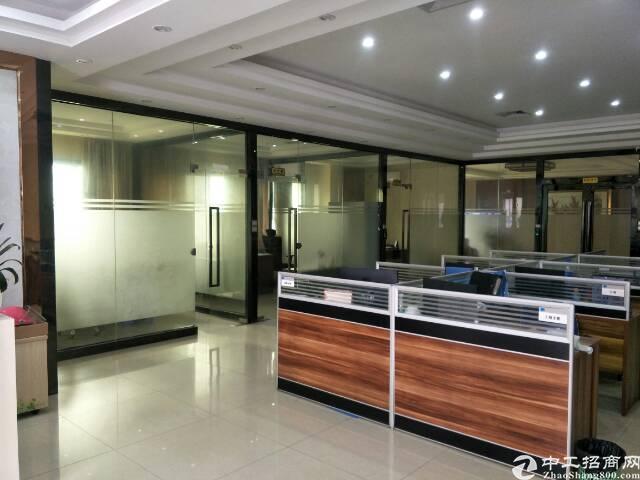 福永地铁口新出原房东楼上一整层2000平米精装修厂房招租