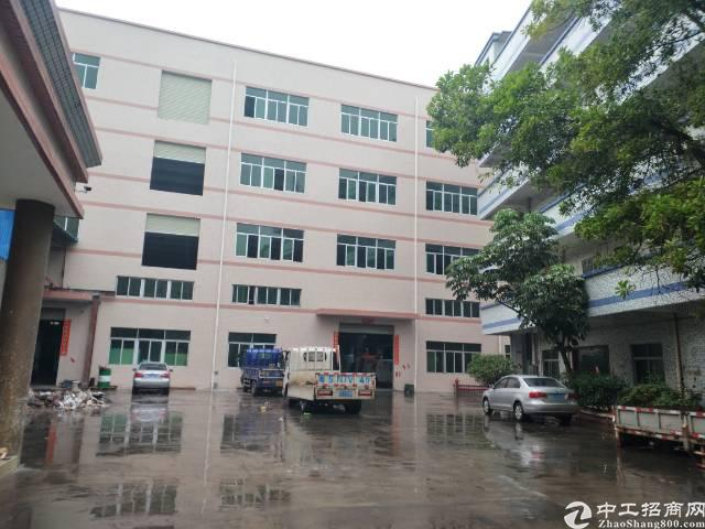 凤岗全新厂房楼上一层2650平方