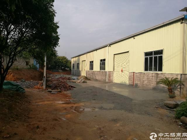 常平1000平米小独院钢构厂房招租