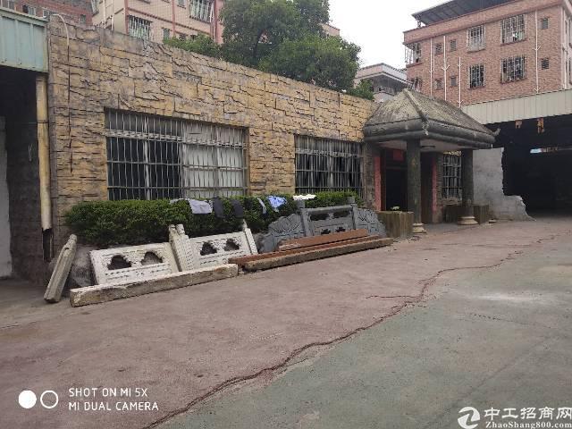 寮步东部快线边上独院钢构厂房出租