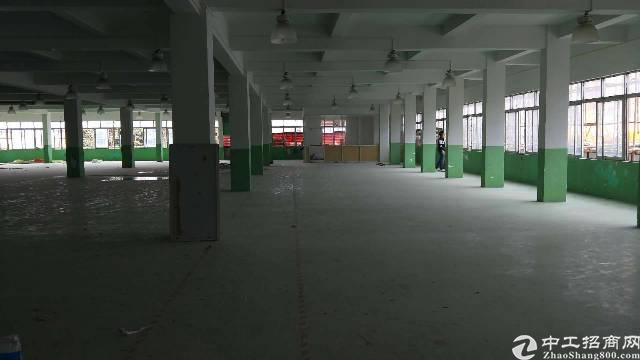虎门镇新出独院厂房面积8200平方,租金15块
