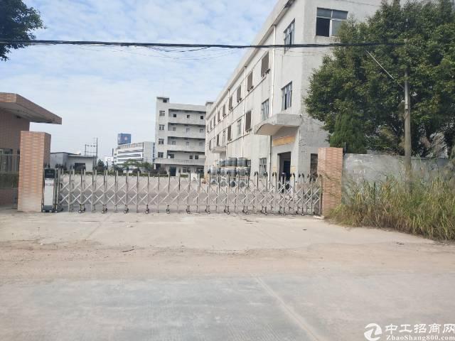 东莞原房东独门独院标准厂房3层8000平方整租13元出租