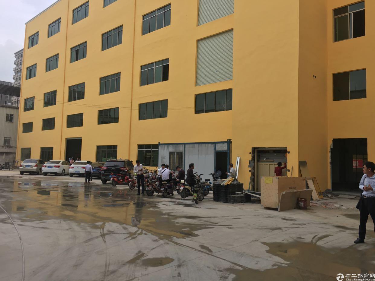 长安上沙全新重工业厂房楼上每平方承重2吨