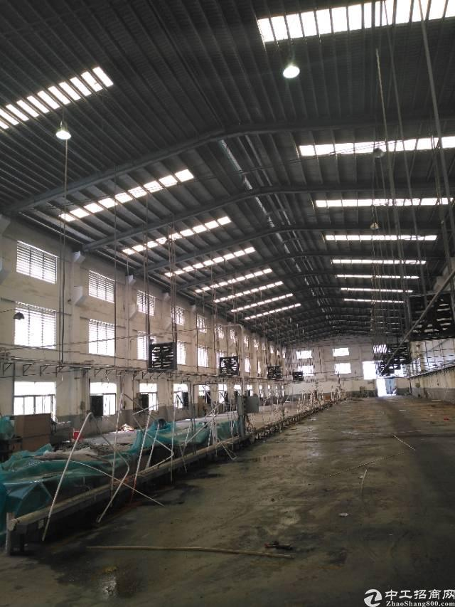 大岭山镇新出单一层厂房3200平方低价出租