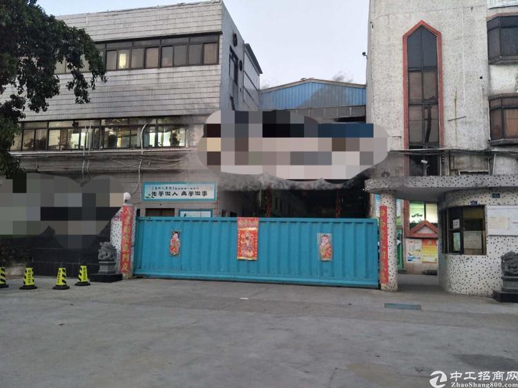 虎门沿江高速出口附近独院印花带证厂房出租
