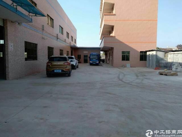 万江环城路边独院原房东单一层滴水8.5米厂房招租