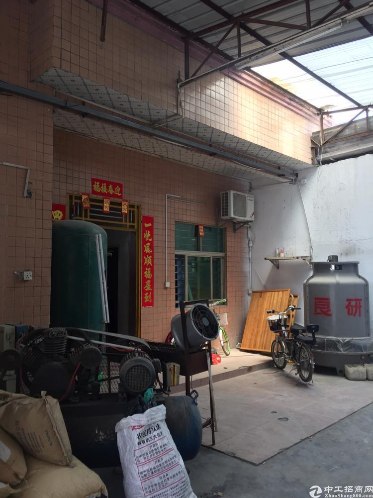 长安镇街口附近现出一独门独院,带一钢构厂房招租,整租更优惠