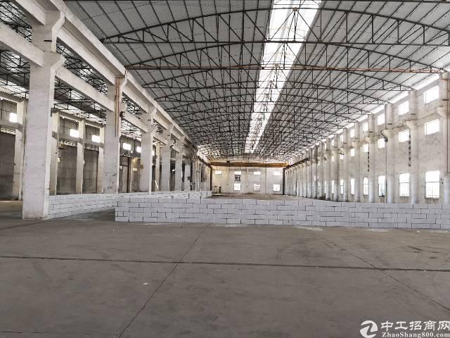 虎门标准单一层13米高厂房出租面积5800平租11元电400