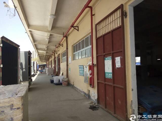 平湖华南城物流仓库一楼5800平米招租!有卸货平台!