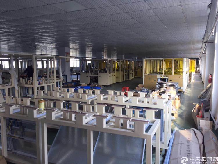 龙岗横岗新出楼上带装修水电齐全厂房2200平米出租