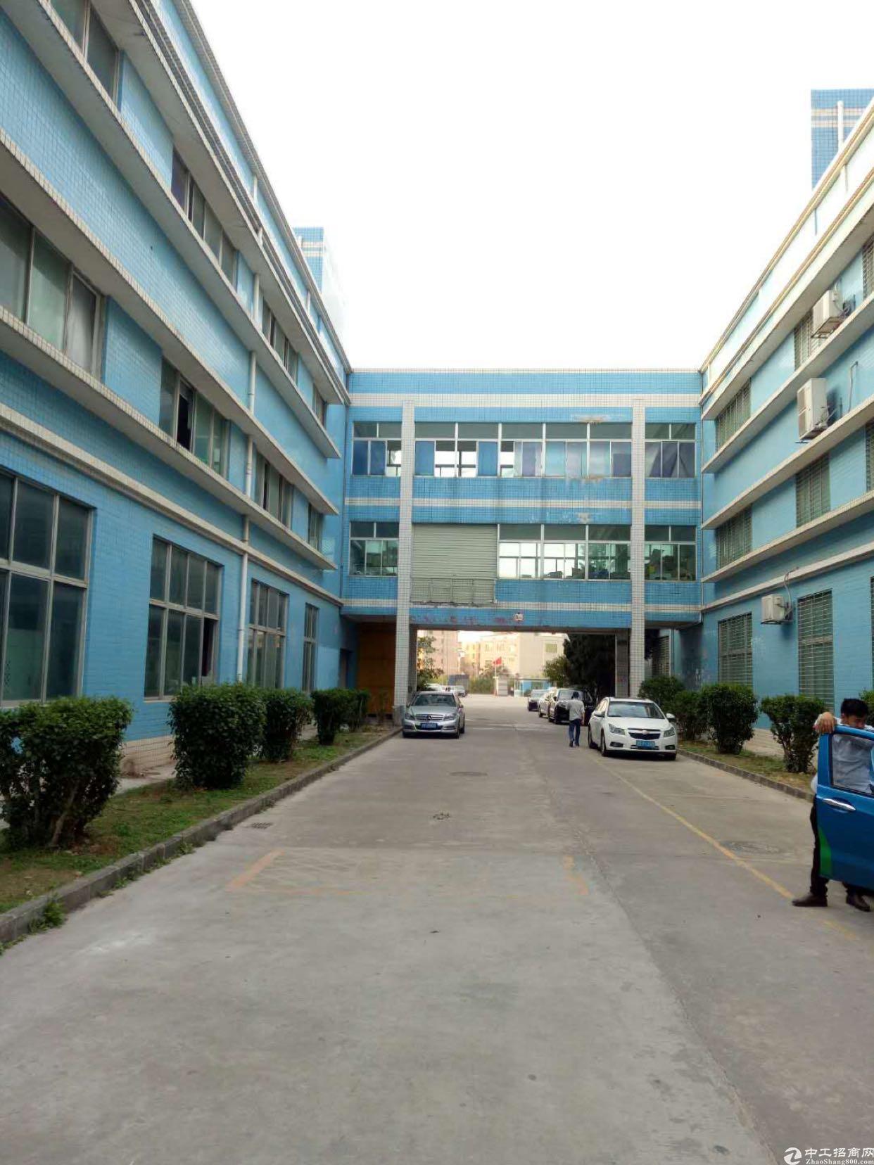 坑梓大型工业园分租楼上1200平方送装修