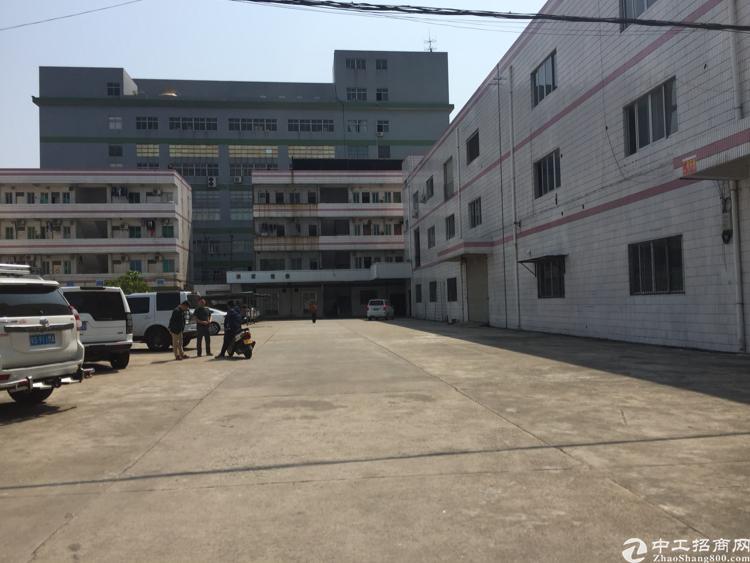 虎门靠长安实业客户分租1.2楼厂房出租
