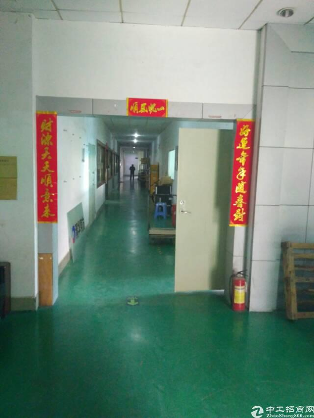 福永塘尾楼上750㎡精装修厂房出租