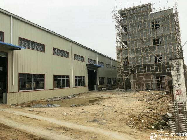 厚街白濠原房东新建钢构独院厂房6500平米,宿舍办公800平